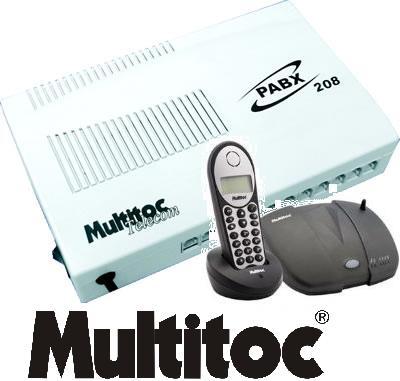 Centrais Telefônicas e PABX multitoc